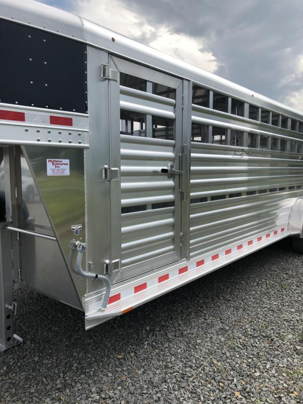 2019 Elite Trailers Stock 7 x 24 x 6.5' Livestock Trailer