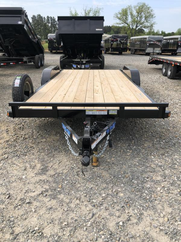 2019 Top Hat Trailers 16 plus 2 Car Hauler Trailer