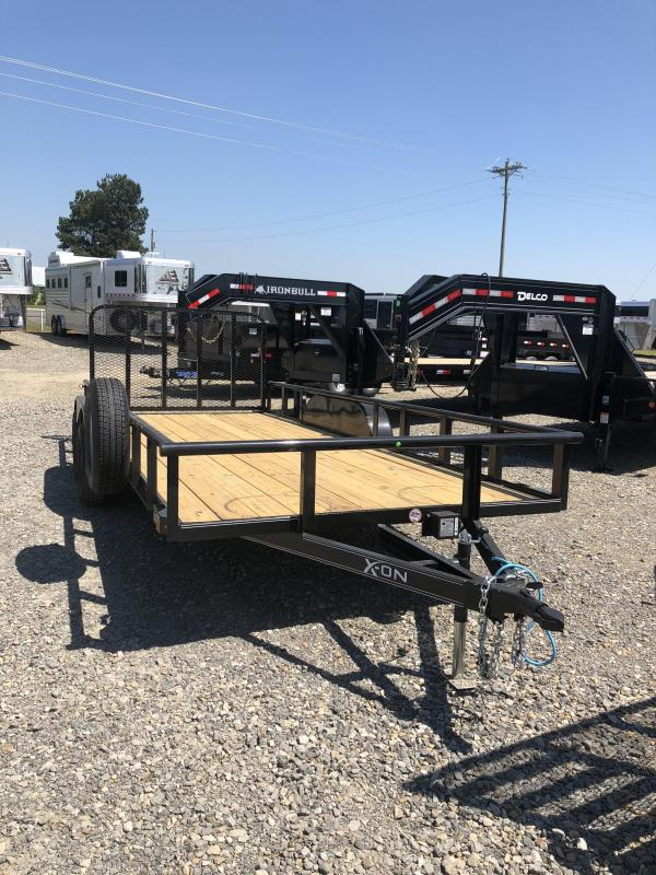 2018 X-On 18x83 BP Utility Trailer