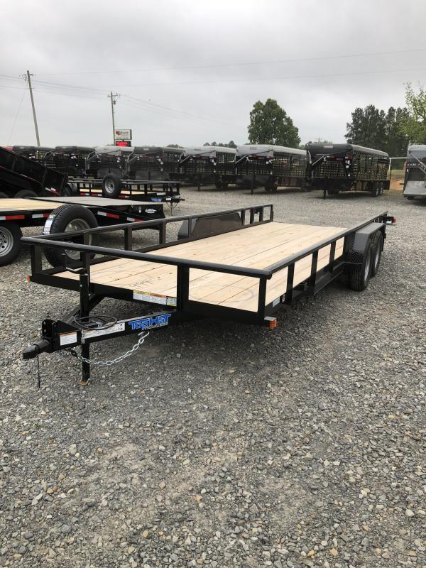 2019 Top Hat Trailers 20x83 BP Utility Trailer