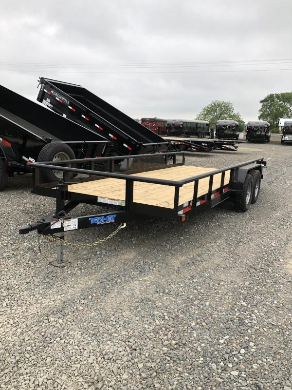 2019 Top Hat Trailers 18x83 Utility Trailer
