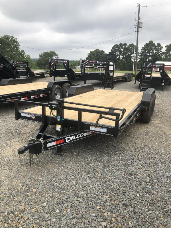 2019 Delco Trailers 18x83 Equipment Hauler Trailer in Powhatan, AR