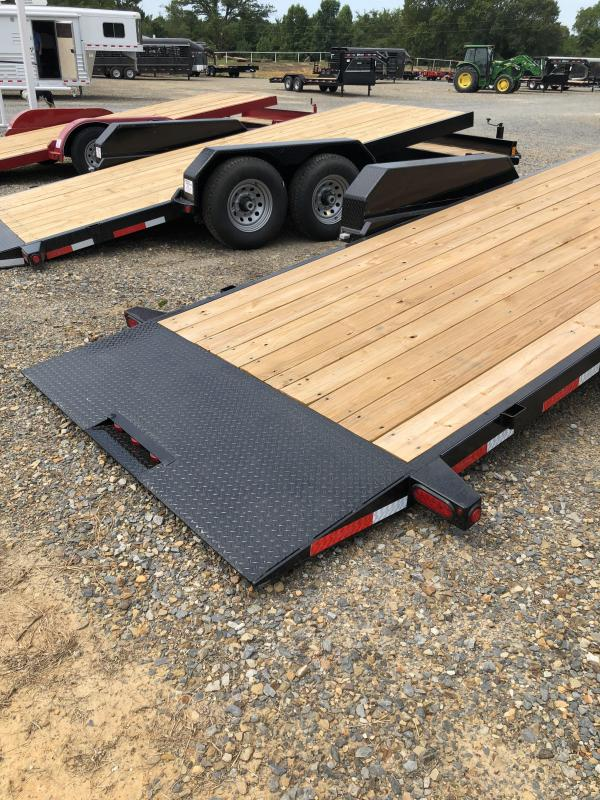 2018 Top Hat Trailers 24 Tilt Deck Equipment Trailer
