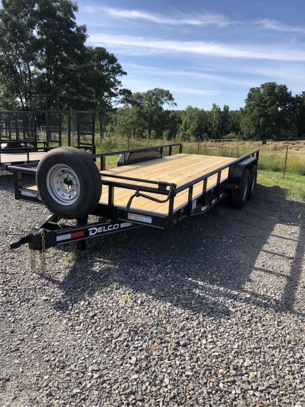 2019 Delco Trailers 20x83 Equipment Hauler in Norfork, AR
