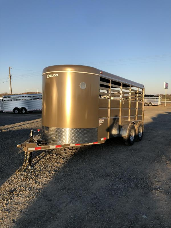 2019 Delco Trailers 16x6 BP Stock Trailer