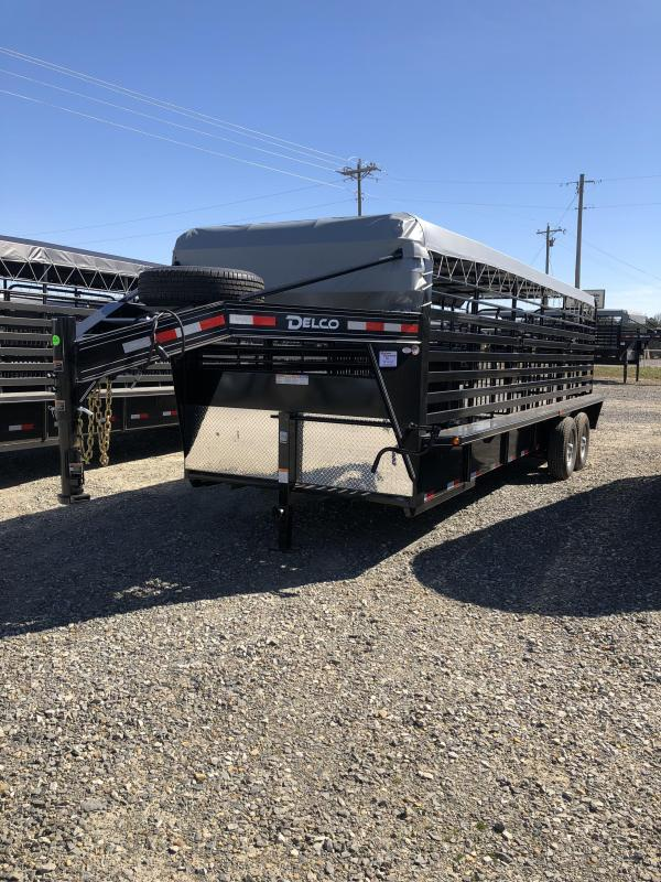 2019 Delco Trailers 24x6.8 Stock Trailer in Ashburn, VA