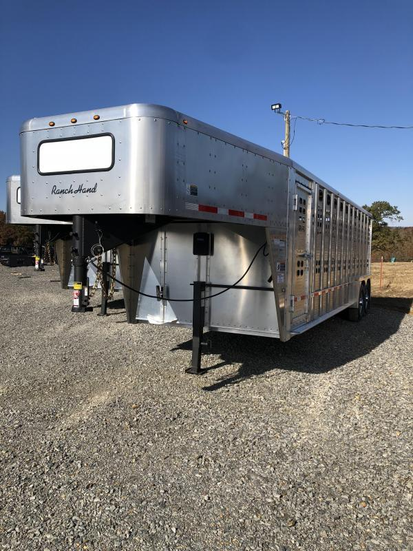 2020 Wilson Trailer Company 24x7 Ranch Hand Livestock Trailer