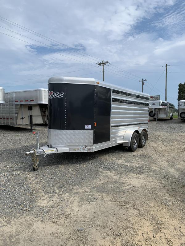 2019 Exiss Trailers BP Low Pro 6 Pen Livestock Trailer