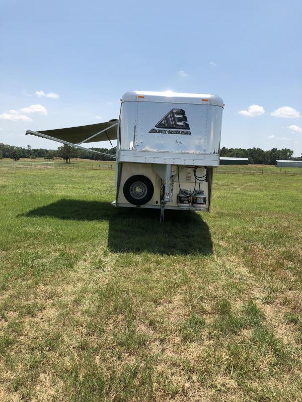 2018 Elite Trailers 4 Horse Mustang Aluminum Trailer