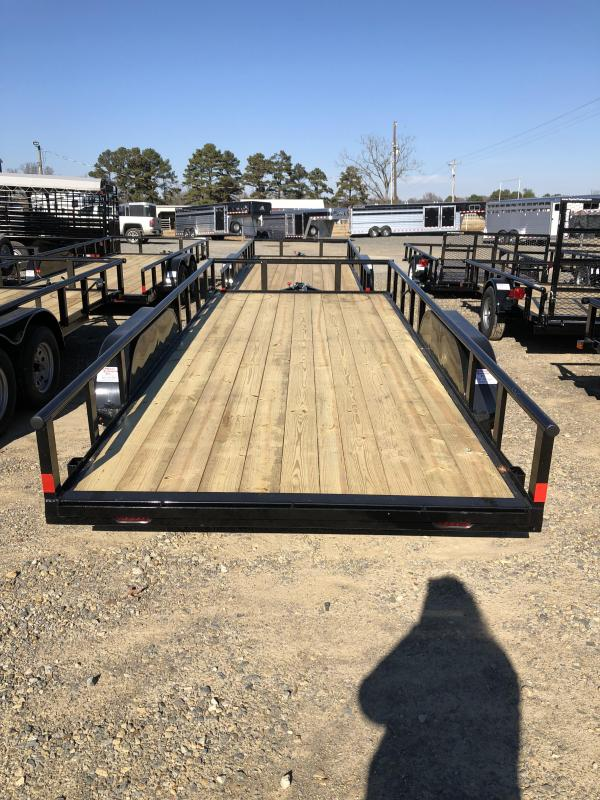 2018 X-On 18x83 BP Utility Utility Trailer