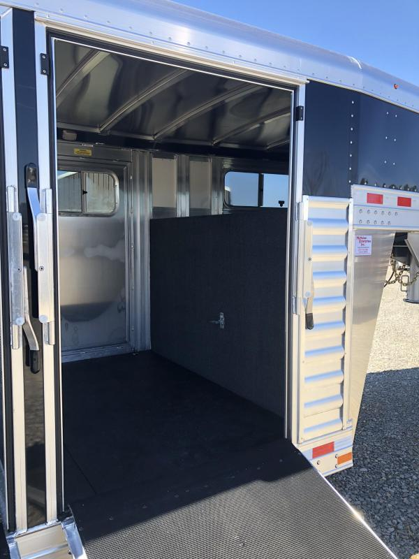 2019 Elite Trailers 8x28 Show Cattle Stock Trailer