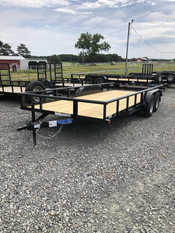 2019 Top Hat Trailers 18x83 BP Utility Trailer