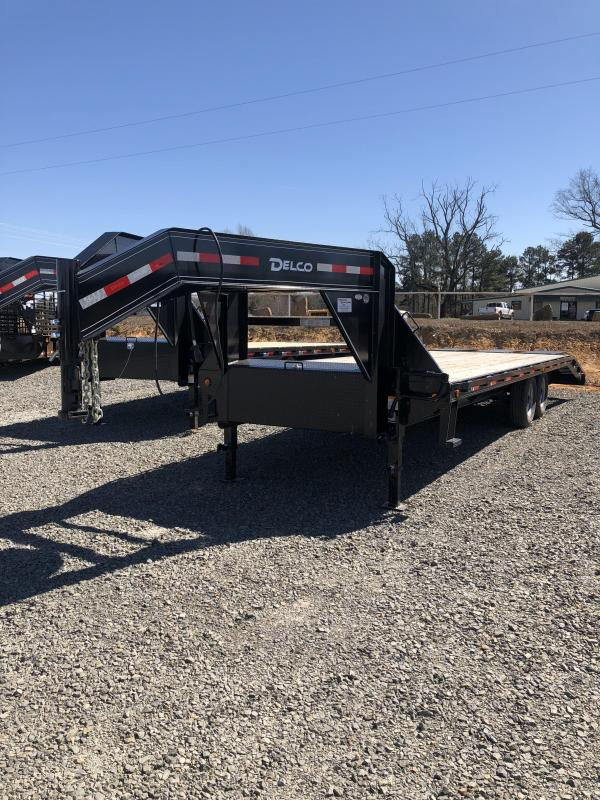 Dealer Demo: 2019 Delco Trailers 20ft plus 5ft Flatbed Trailer
