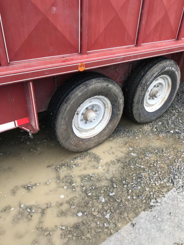 1993 Coose 20x7 Stock Trailer