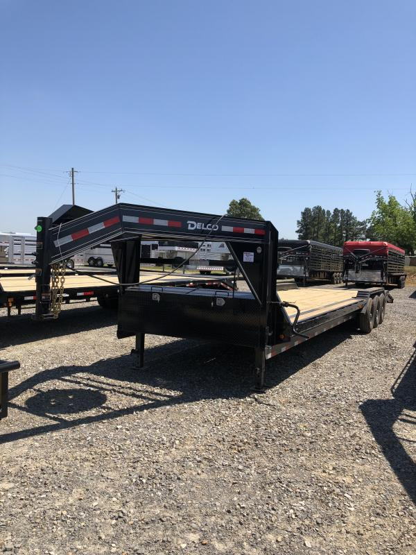 2019 Delco Trailers 32 ft GN Equipment Hauler in Norfork, AR