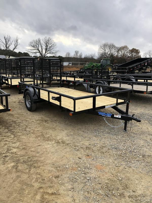 2019 Top Hat Trailers 12x77 BP Utility Trailer