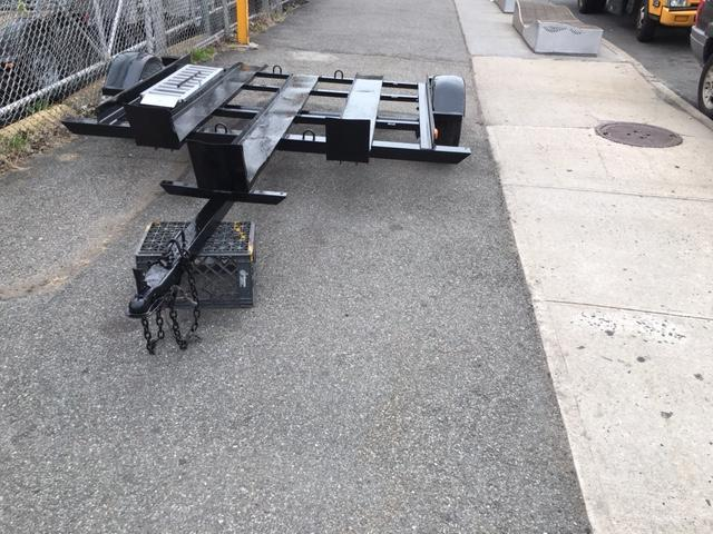 2000 Karavan Trailers 3 Rail MC Trailer Motorcycle Trailer