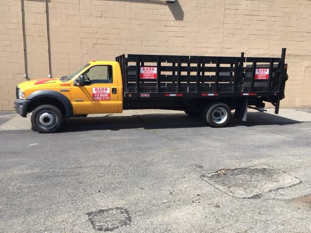 2005 Ford F550 Stake Bed Truck