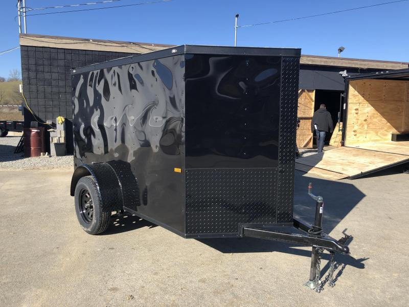 2018 Rock Solid 5x8' Enclosed Cargo Trailer 2990# GVW