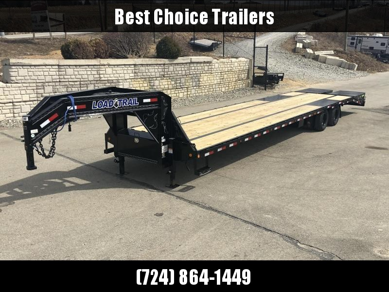 2019 Load Trail 102x40' HOTSHOT Gooseneck Beavertail Deckover Flatbed 24000# Trailer * GP0240122 * EOH Disc Brakes * MAX Ramps * HDSS Suspension * Ratchet Track w/ Ratchets * Under frame bridge * Torque Tube * 12K Axles