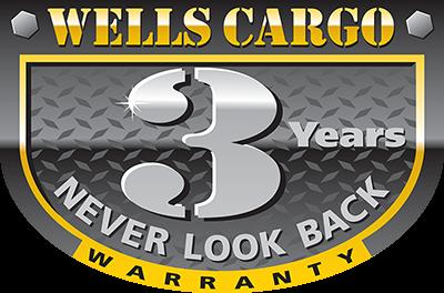 2019 Wells Cargo 8.5x24' Fastrac Enclosed Car Trailer 7000# GVW * WHITE EXTERIOR * RAMP DOOR