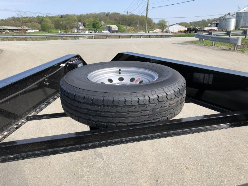 """2018 Ironbull 102x34' Gooseneck Car Hauler Equipment Trailer 14000# GVW * 102"""" Deck * Drive Over Fenders * Extended 4' dovetail * Winch plate"""