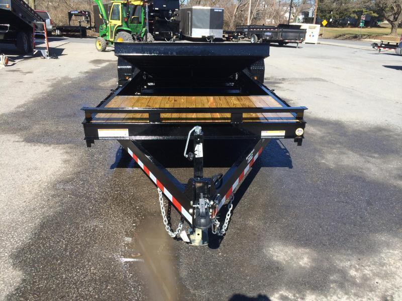 2018 Sure-Trac 7x18+4' Tilt Bed Equipment Trailer 14000# GVW * CLEARANCE - FREE ALUMINUM WHEELS