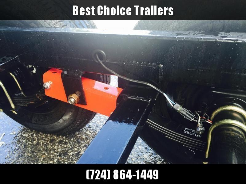 2019 Sure-Trac 7x16' LowPro HD Dump Trailer 14000# GVW * TELESCOPIC HOIST