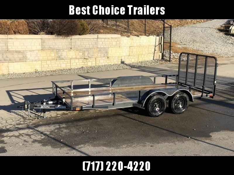 2019 X-On 77x14' Utility Landscape Trailer 7000# GVW * CHARCOAL