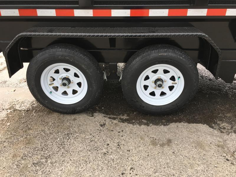 2018 Sure-Trac 5x10 Low Profile Homeowner Dump Trailer 7000# GVW * CLEARANCE - FREE ALUMINUM WHEELS