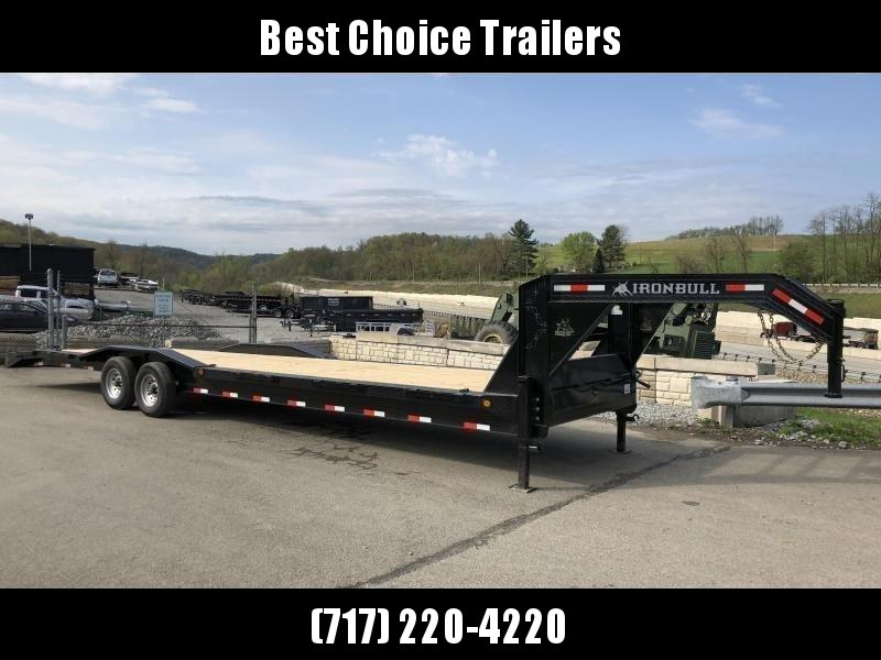 2019 Ironbull 102x32' Gooseneck Car Hauler Equipment Trailer 14000