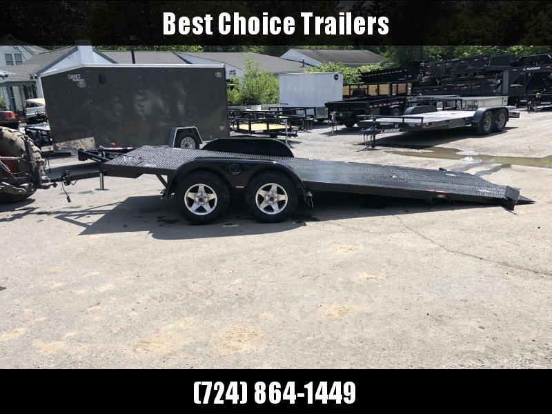 2019 Kwik Load 7x18' Texas Rollback Car Trailer 7000# GVW * ALUMINUM WHEELS * LOW LOAD ANGLE * STEEL FLOOR * TORSION in Ashburn, VA