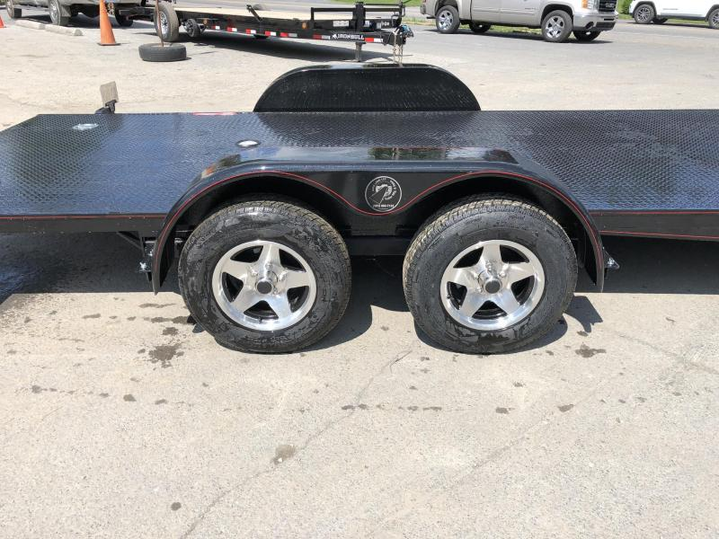 2019 Kwik Load 7x18' Texas Rollback Car Trailer 7000# GVW * ALUMINUM WHEELS * LOW LOAD ANGLE * STEEL FLOOR * TORSION