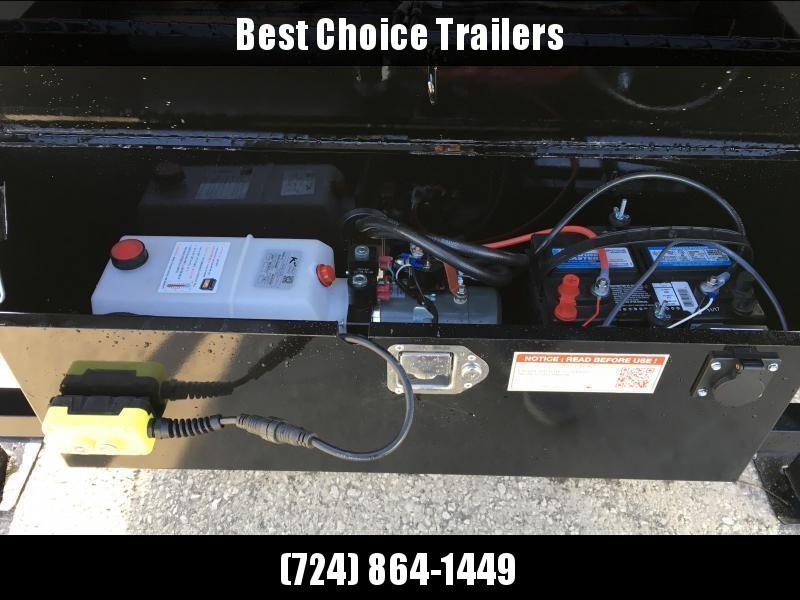 2019 Sure-Trac 102x22' Gooseneck Power Tilt Deckover 15000# GVW * WINCH PLATE * OAK DECK