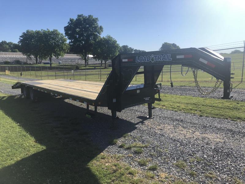 2019 Load Trail 102x34' Gooseneck Beavertail Deckover Flatbed 22000# Trailer * GP0232102 * MAX Ramps * HDSS Suspension * Dexter Axles * Winch plate