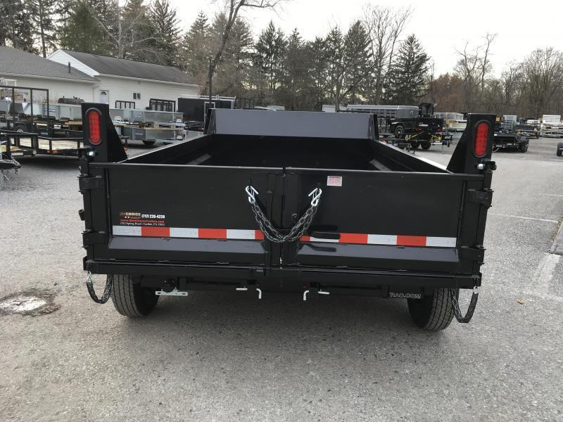 2019 Sure-Trac 6x10' LP Hydraulic Dump Trailer 9900# GVW DROP LEG JACK UNDERMOUNT RAMPS COMBO GATE
