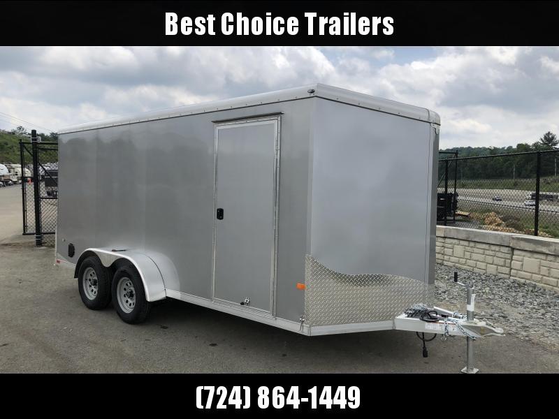 "2019 Neo 7x16' NAVR Aluminum Enclosed Cargo Trailer * RAMP DOOR * STAB JACKS * SIDE VENTS * 16"" O.C FLOOR * PRO STAB JACKS"