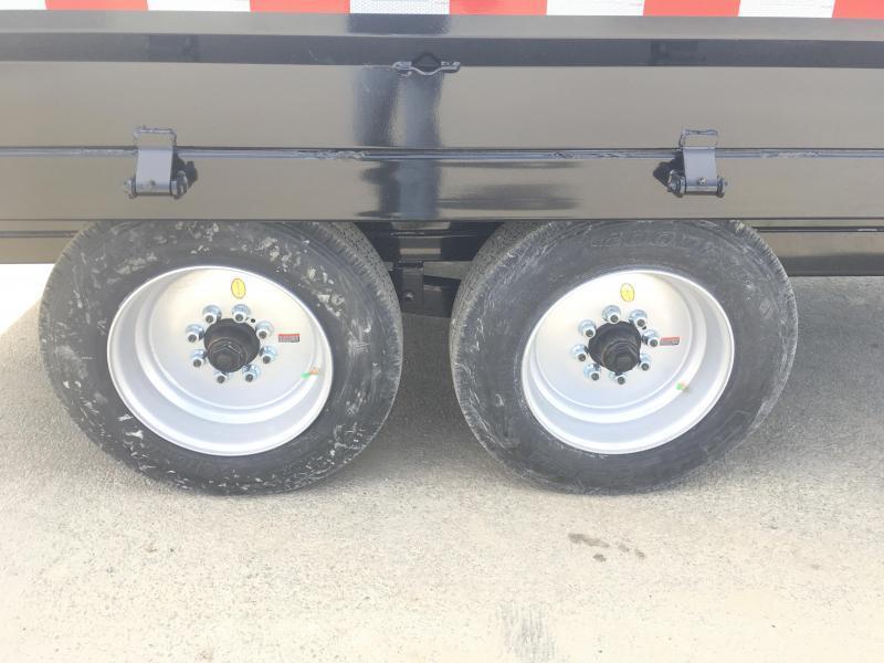 2018 Sure-Trac 8x14' HD Gooseneck Deckover Dump Trailer