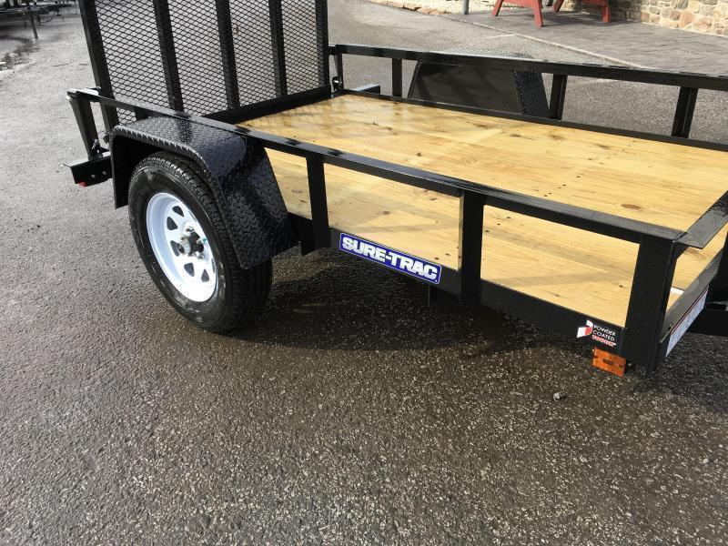 2019 Sure-Trac 5x8' Angle Iron Utility Trailer 2990# GVW | Best