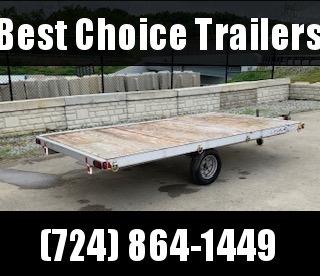 """USED 2002 Triton 80"""" x 154"""" 3-Place ATV Trailer Quad Hauler in Ashburn, VA"""