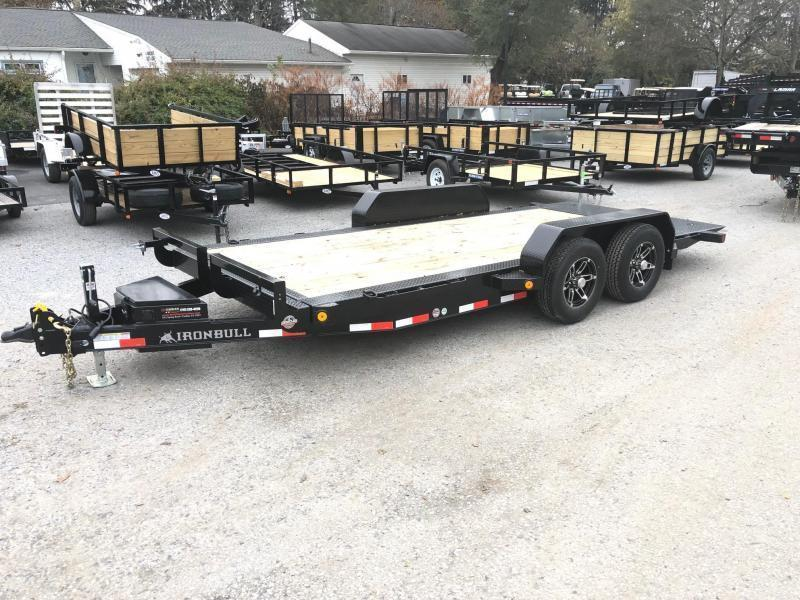 2019 Iron Bull 7x20' Tilt Equipment Trailer 14000# GVW * POWER TILT * TORSION