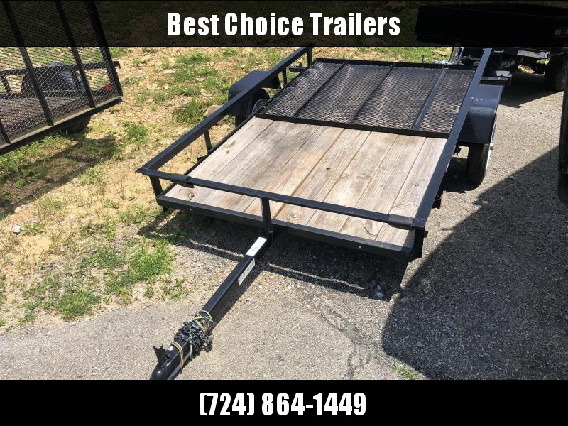 USED Tarter 5x8' Angle Iron Utility Landscape Trailer w/ Gate