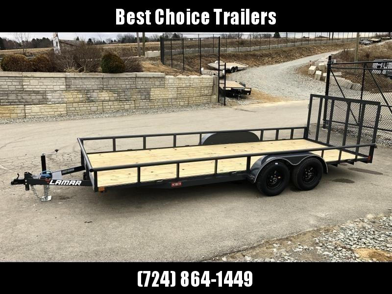 2019 Lamar 7x20' Pipe Top Utility Landscape Trailer 7000# GVW in Ashburn, VA