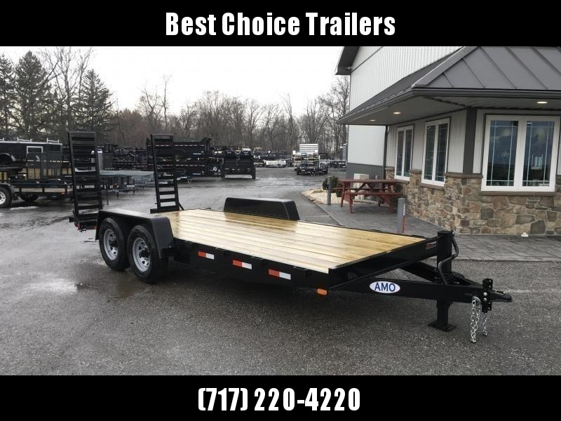 2019 AMO 7x16' Equipment Trailer 12000# GVW