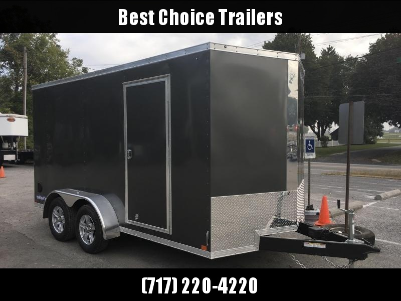2018 Sure-Trac 7x14' Enclosed Cargo Trailer 7000# GVW * CHARCOAL
