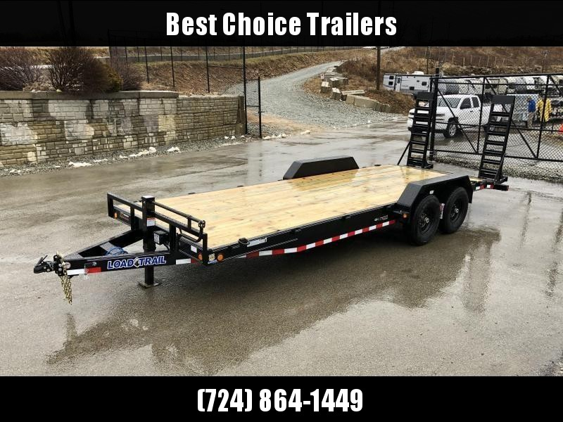 2019 Load Trail 7x18' Equipment Trailer 14000# GVW * CH8322072-EQ * STAND UP RAMPS * D-RINGS * COLD WEATHER * DEXTER'S * 2-3-2 * POWDER PRIMER