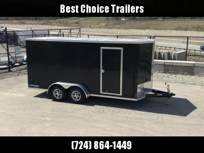 2019 Sure-Trac 7x16' Enclosed Cargo Trailer 7000# GVW * BLACK
