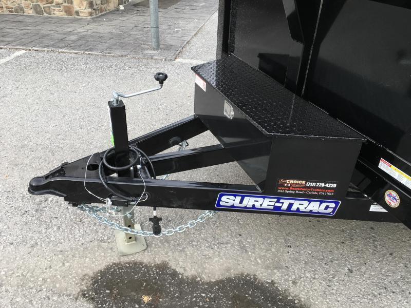 2019 Sure-Trac 6x10' LP Hydraulic Dump Trailer 9900# GVW