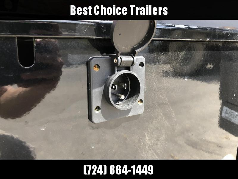 2019 Lamar 5x10' Tandem Axle DS60 Dump Trailer 7000# GVW * SPARE MOUNT * RAMPS * CHARCOAL W/ BLACK WHEELS * RIGID RAIL * ADJUSTABLE COUPLER * 7K JACK * 110V CHARGER