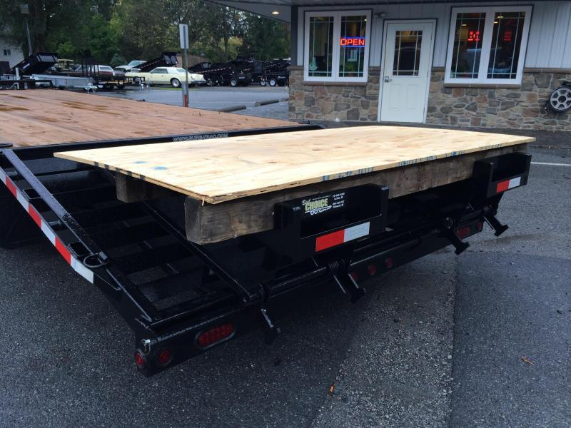 2017 Sure-Trac 102x20+5 15K Beavertail Deckover Trailer * CLEARANCE - FREE ALUMINUM WHEELS